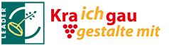 LEADER-KRAichGAU gestalte mit - Logo